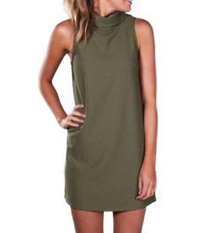 The Army Green Dress
