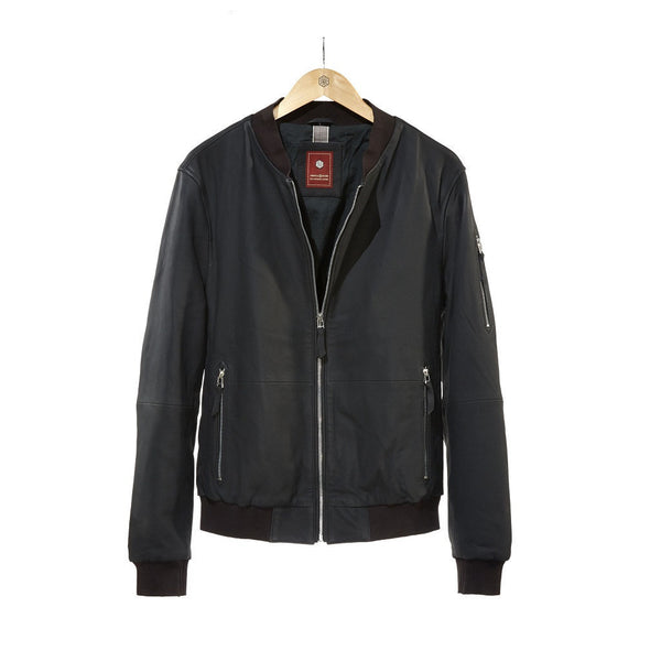 Leather Gomma Jacket