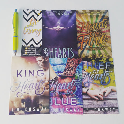 L.H. Cosway Signed Swag & Pen