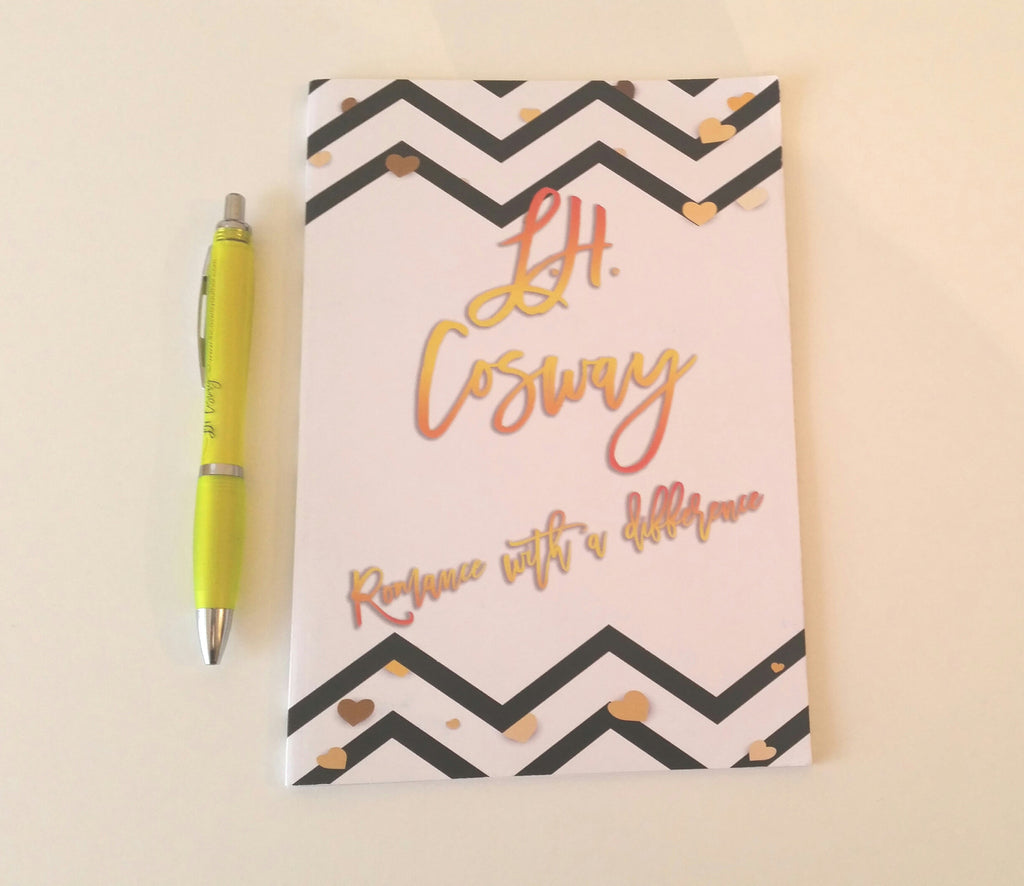 L.H. Cosway Notebook & Pen