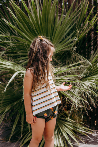Agave Sunset Stripe Tank - Ready To Ship