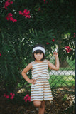 Agave Sunset Stripe Dress