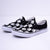 "GID SLIP-ON ""Faith Stepper"" (BLACK/WHITE)"