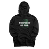 """PROPERTY OF GOD"" HOODIE (BLACK)"