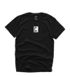 """TINY BOX"" TEE (BLACK/WHITE)"