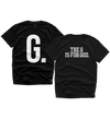 """G IS FOR GOD"" TEE (BLACK/WHITE)"