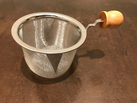Basket-style stainless steel steeper