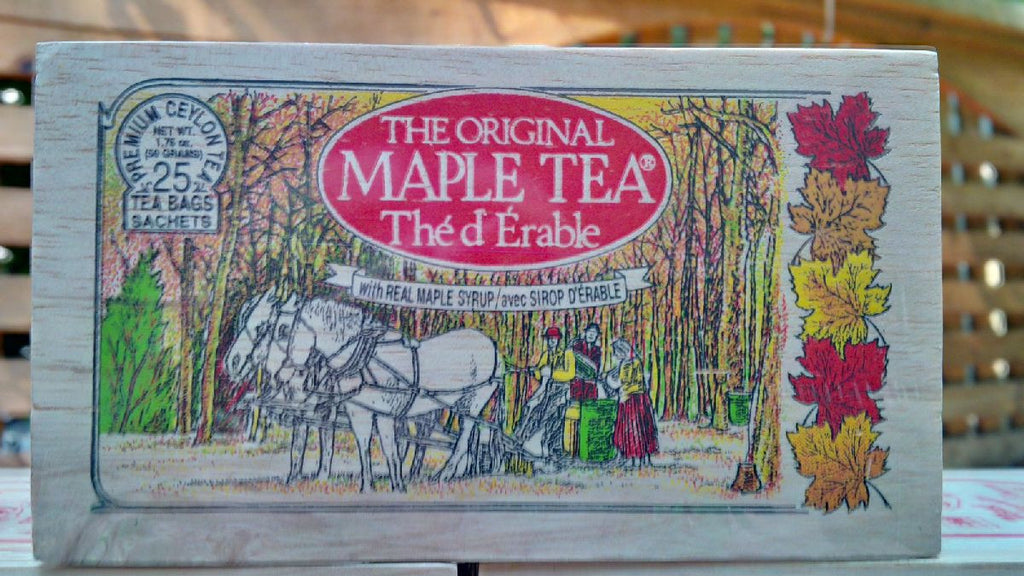 Maple Tea Canadian Souvenir