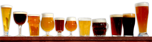 Craft beer varieties