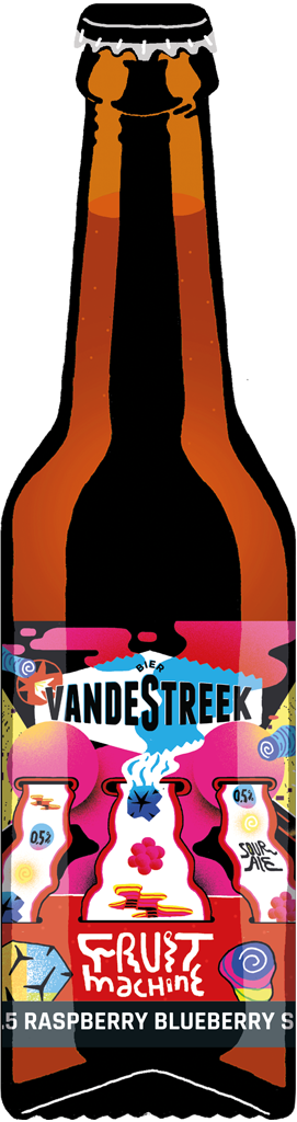 Vandestreek - Fruitmachine 4x33cl