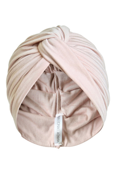 Pink Whisper Twist Turban