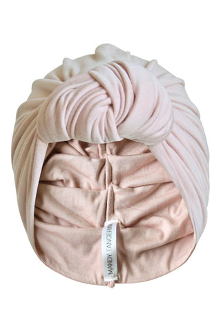 Pink Whisper Knot Turban