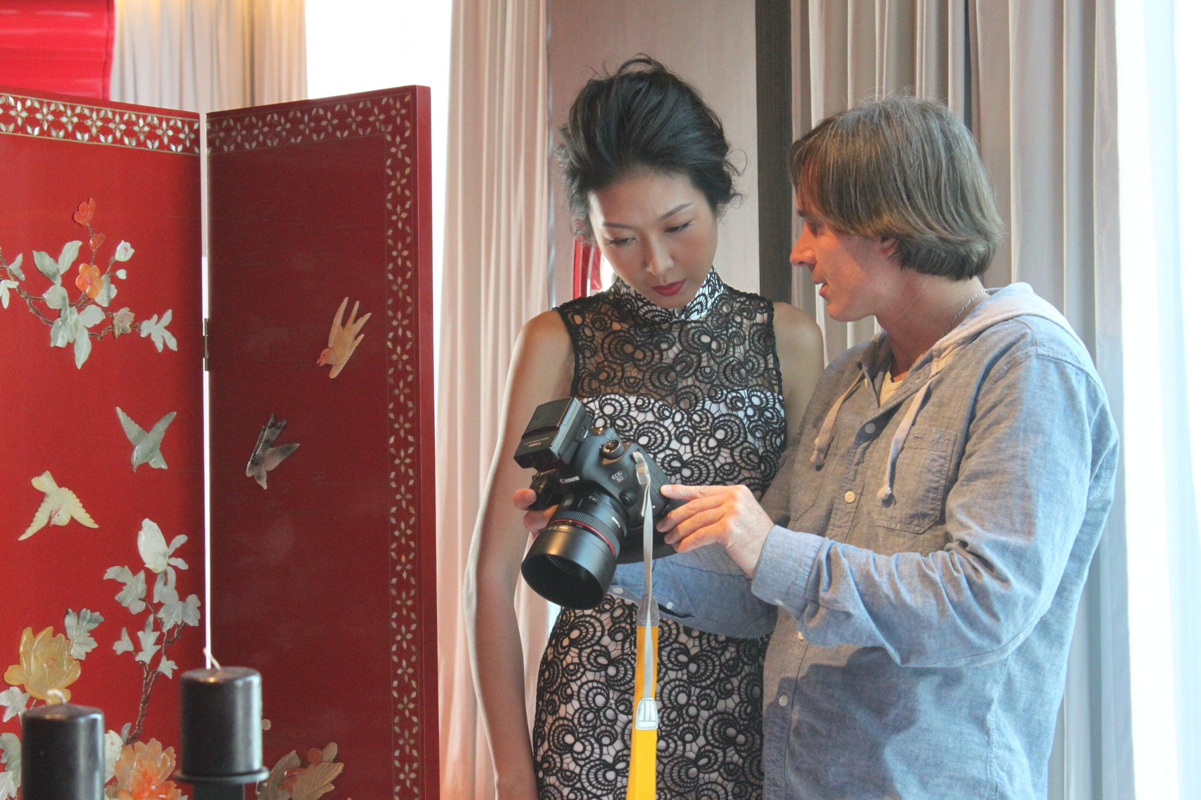 Making of Yi-ming SS14 Fashion Shoot 8
