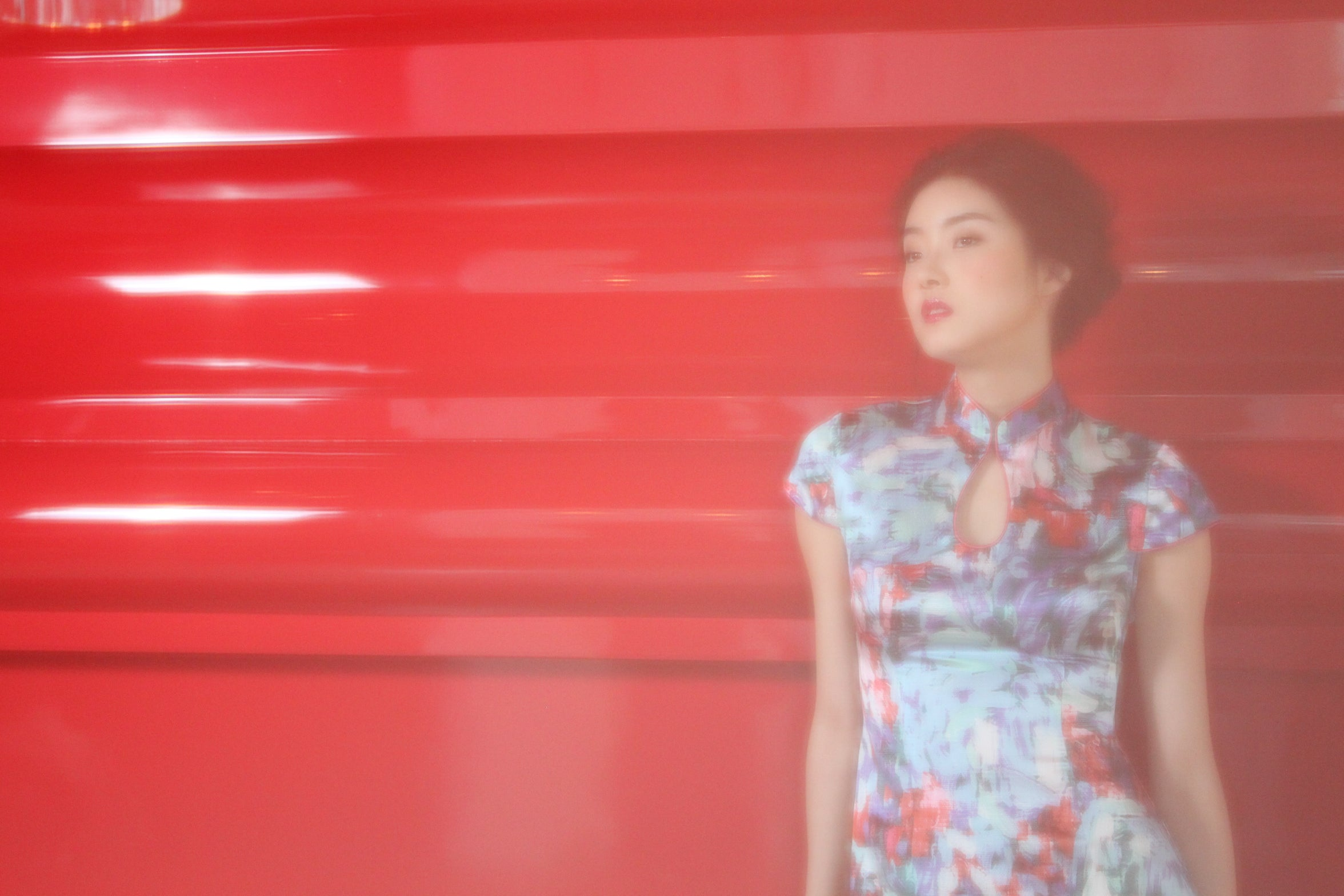 Making of Yi-ming SS14 Fashion Shoot 7