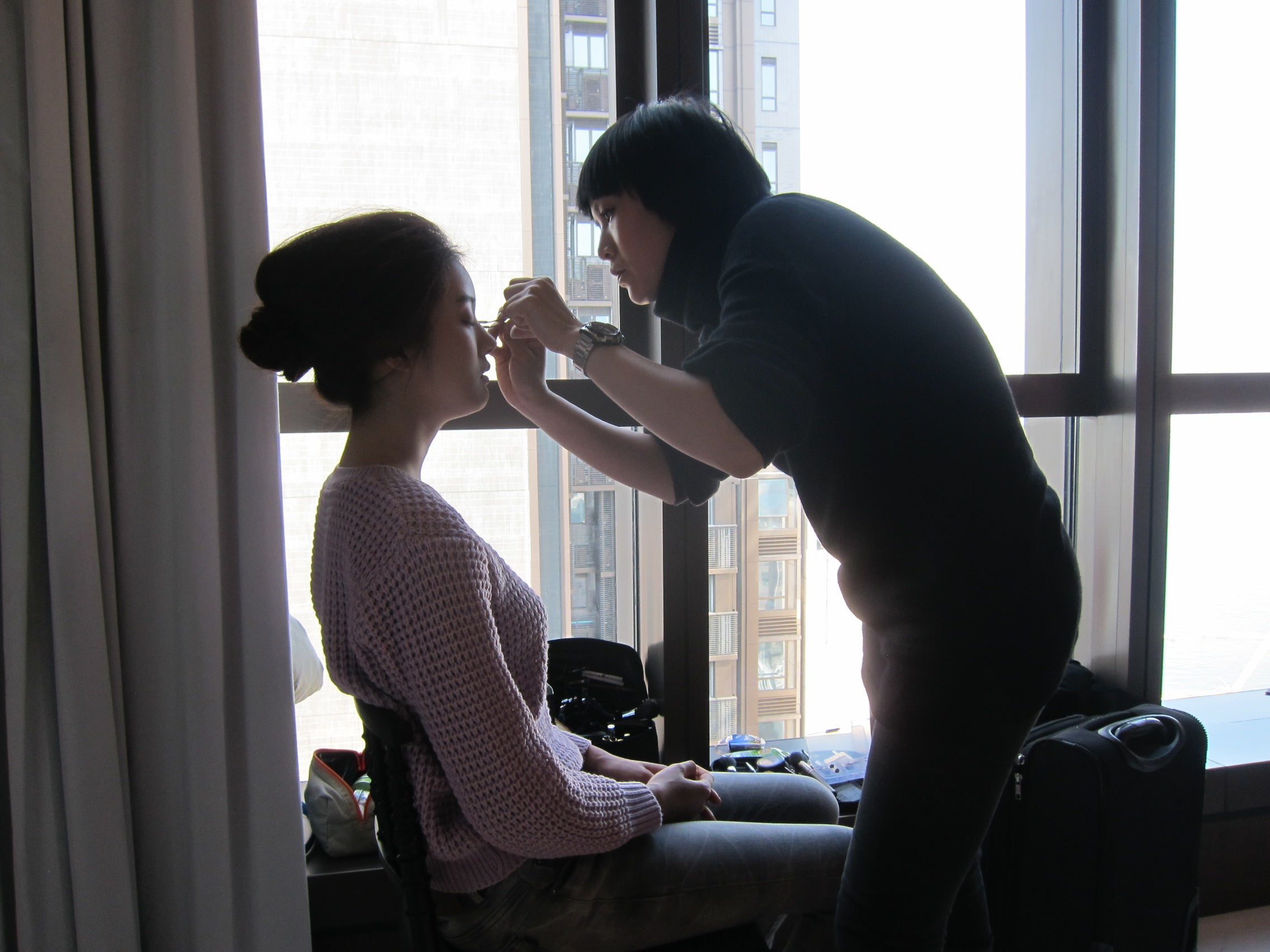 Making of Yi-ming SS14 Fashion Shoot 2
