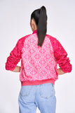 DISNEY Mickey Jeana Lace Bomber Jacket