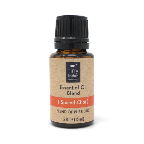Essential Oil Blend - Spiced Chai - 100% Pure & Undiluted, Therapeutic Grade