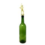 [ IKC Design ] Baseball Trophy Wine Bottle Stopper with Stainless Steel Base