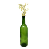 [ IKC Design ] Bronco Trophy Wine Bottle Stopper with Stainless Steel Base