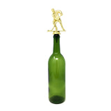 [ IKC Design ] Hockey Trophy Wine Bottle Stopper with Stainless Steel Base