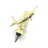 [ IKC Design ] Marlin Trophy Wine Bottle Stopper with Stainless Steel Base