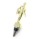 [ IKC Design ] Salesman Trophy Wine Bottle Stopper with Stainless Steel Base