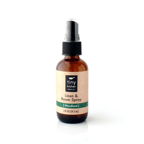 Tiny Kitchen Soap Co. Woodland Essential Oil Linen and Room Spray