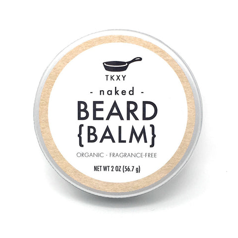 Beard Balm - Naked (Fragrance-Free) - All Natural & Organic