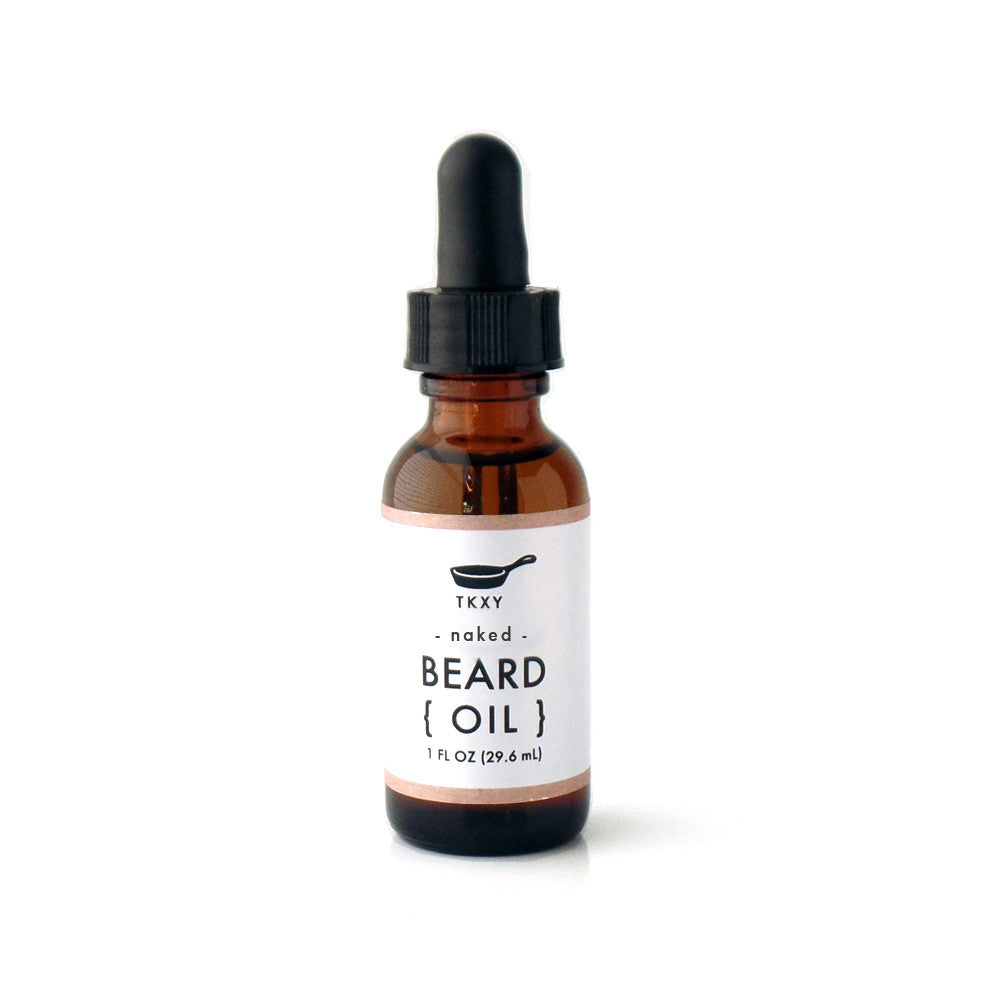 Beard Oil - Naked (Fragrance-Free) - Organic