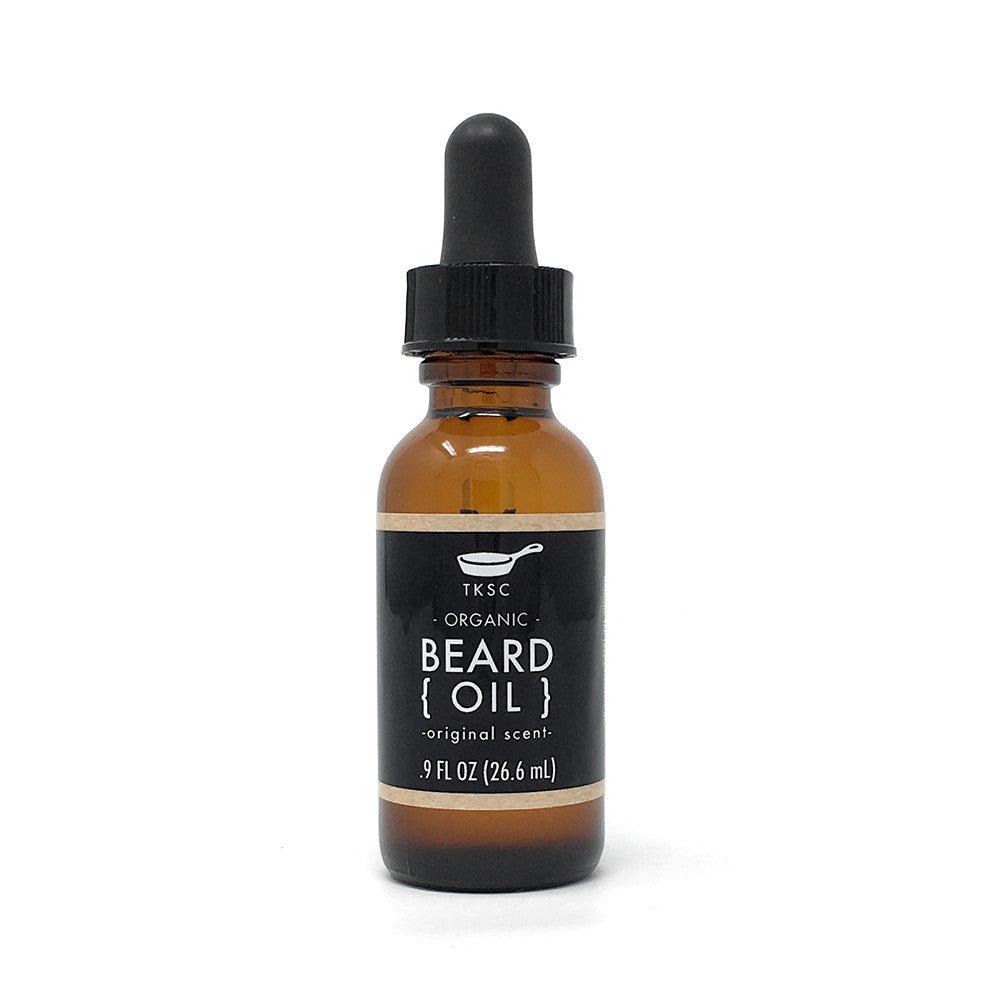 Tiny Kitchen Soap Co. Original Scent Organic Beard Oil
