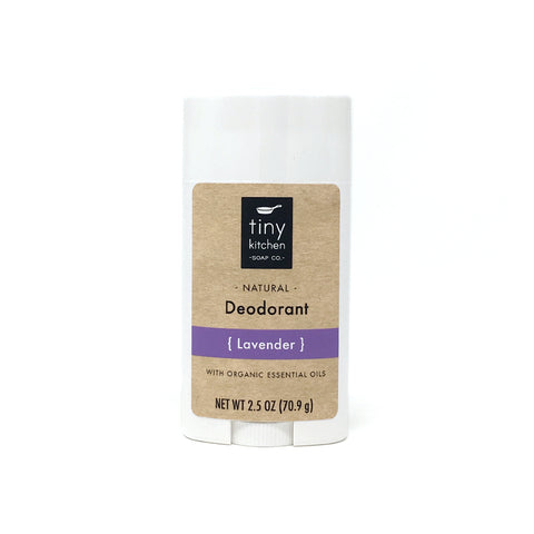 Tiny Kitchen Soap Co. Natural Aluminum-Free Lavender Deodorant
