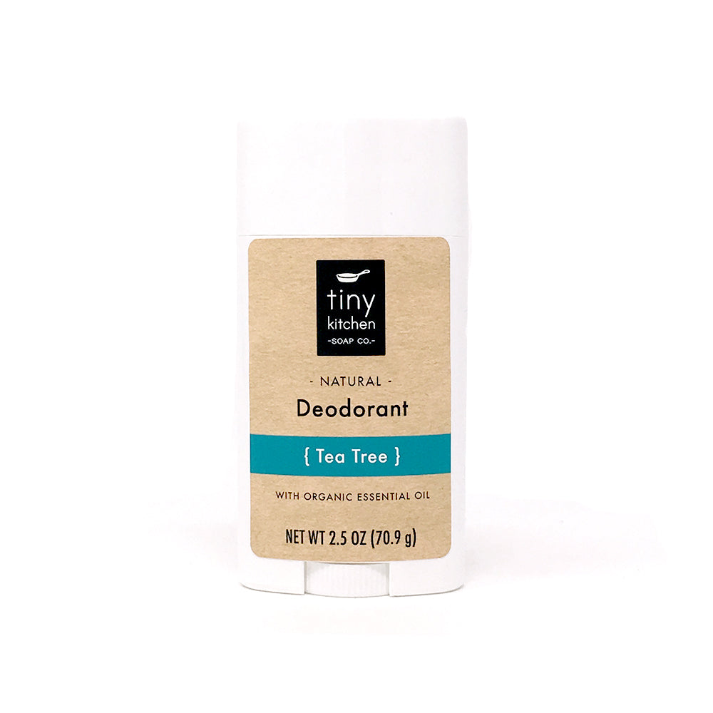 Tiny Kitchen Soap Co. Natural Aluminum-Free Tea Tree Deodorant