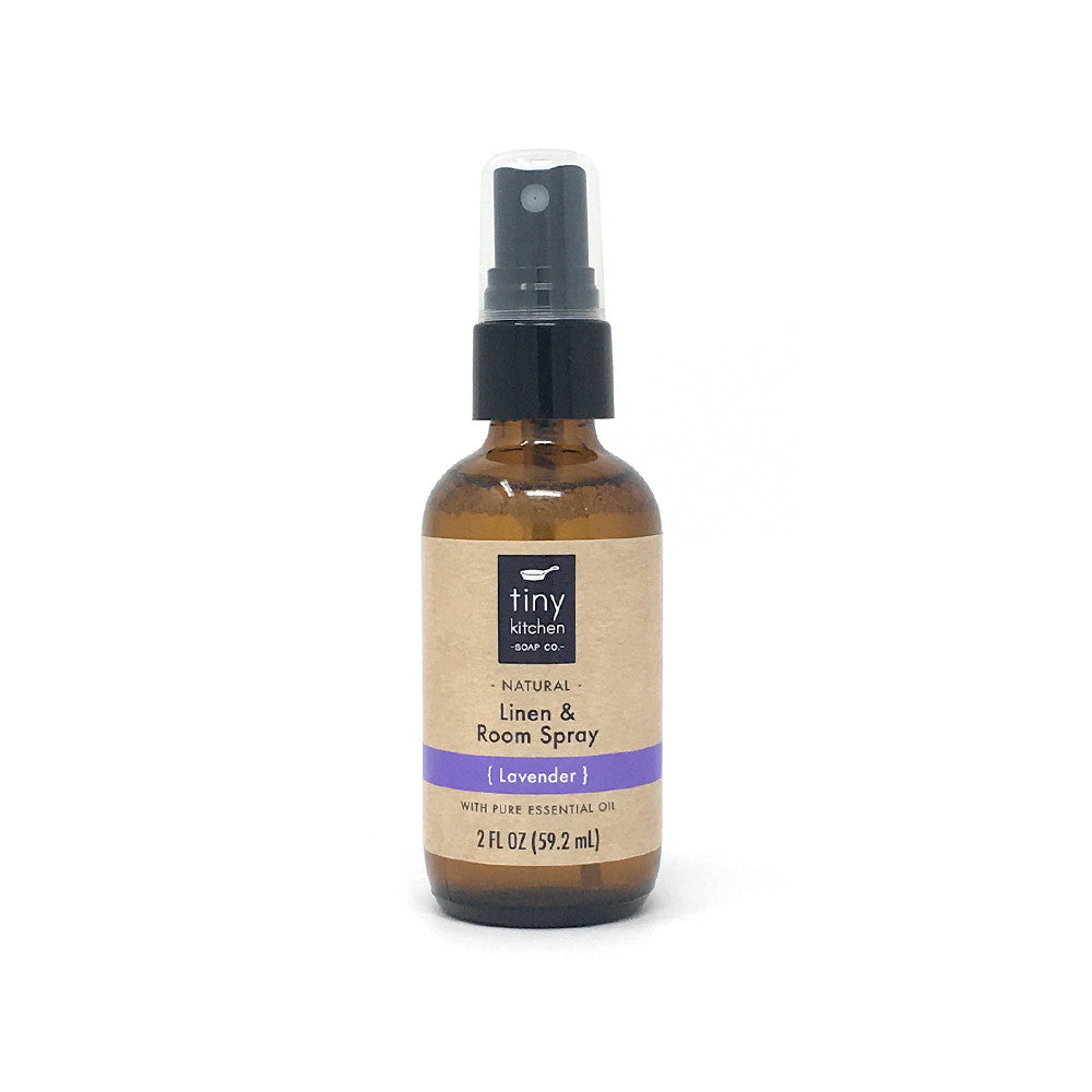 Linen & Room Spray - Lavender - All Natural with Pure Essential Oil