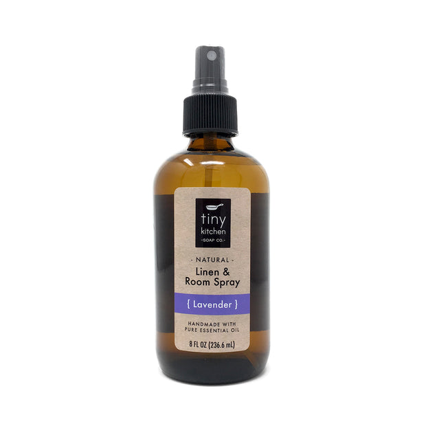 Tiny Kitchen Soap Co. Lavender Essential Oil Linen and Room Spray 1