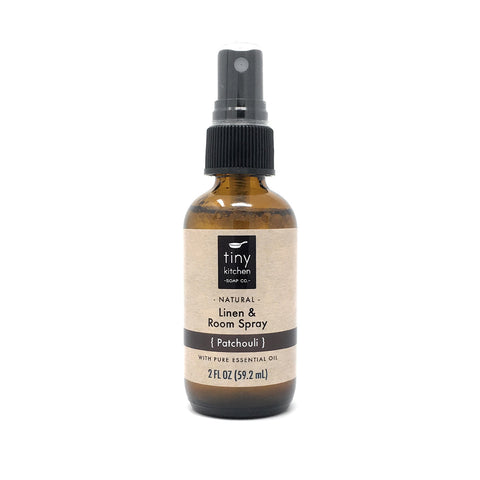 Tiny Kitchen Soap Co. Patchouli Essential Oil Linen and Room Spray