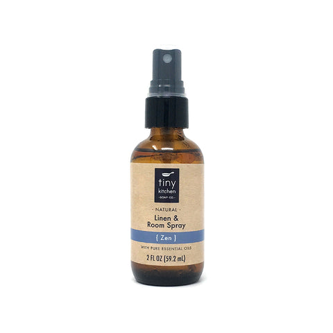 Linen & Room Spray - Zen - All Natural with Pure Essential Oils