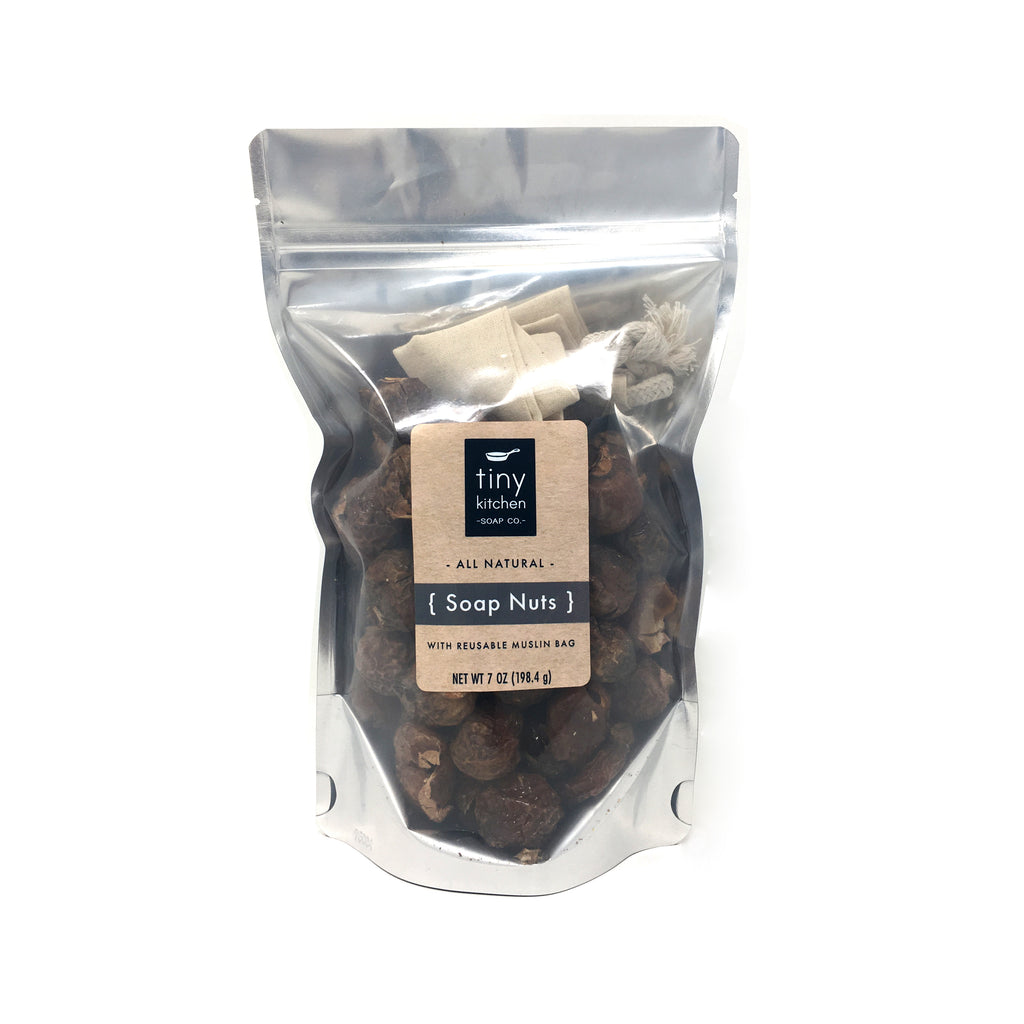 Tiny Kitchen Soap Co. All Natural Laundry Soap Nuts, HE & Septic Safe