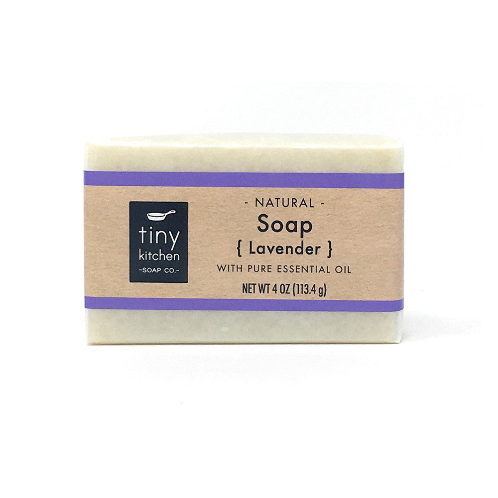 Tiny Kitchen Soap Co. Lavender Natural Bar Soap
