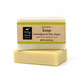 Bar Soap - Lemongrass & Sage | All Organic Base Oils