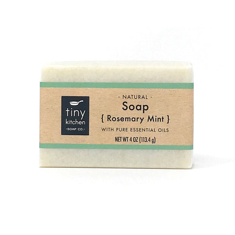 Bar Soap - Rosemary Mint | All Organic Base Oils