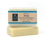 Tiny Kitchen Soap Co. Tea Tree & Eucalyptus Natural Bar Soap