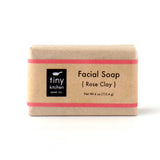 Facial Soap - Rose Clay