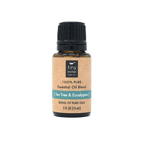 Essential Oil Blend - Tea Tree & Eucalyptus - 100% Pure & Undiluted, Therapeutic Grade