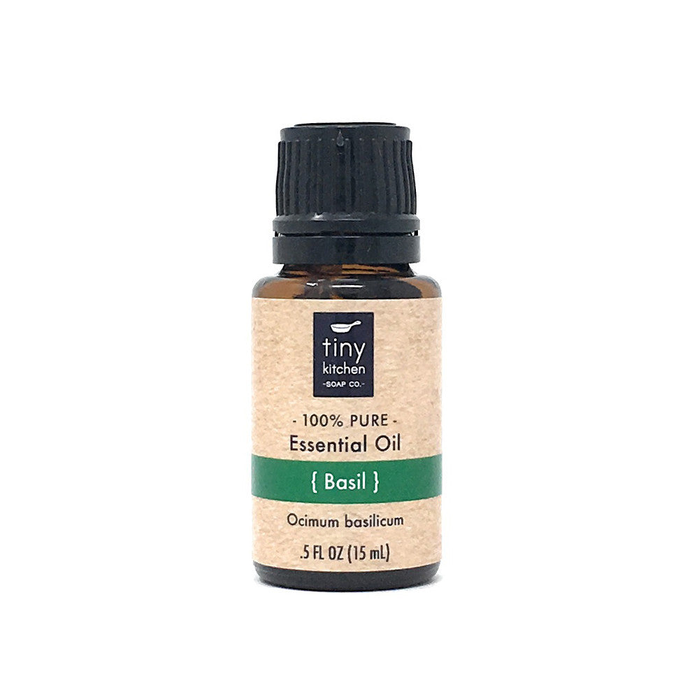 Essential Oil - Basil - 100% Pure & Undiluted, Therapeutic Grade