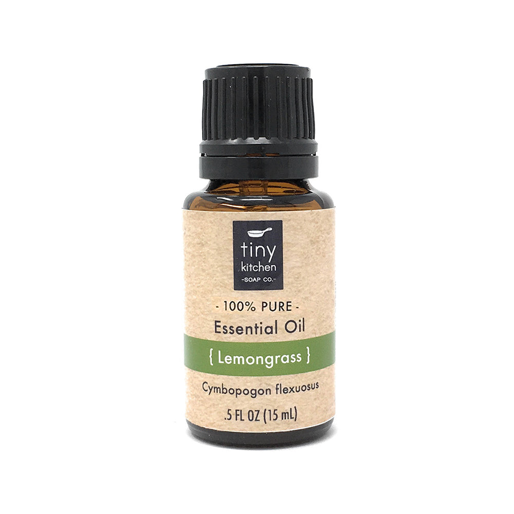 Essential Oil - Lemongrass - 100% Pure & Undiluted, Therapeutic Grade