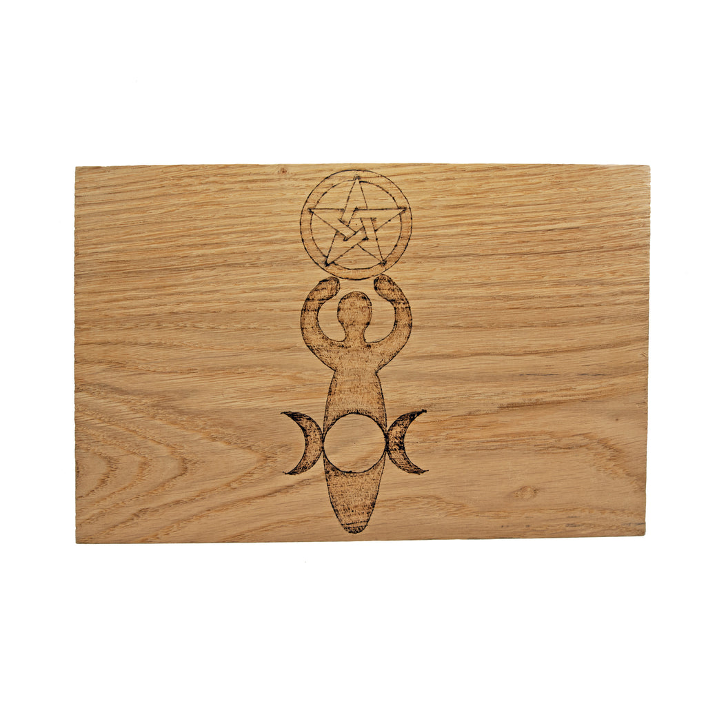 Large Altar Board with Goddess Design