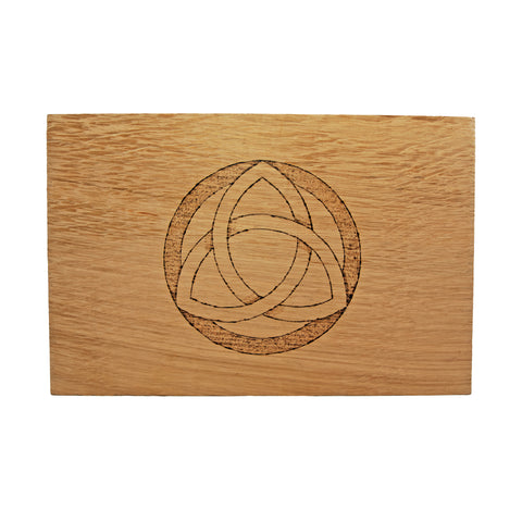 Large Altar Board with Triquetra Design