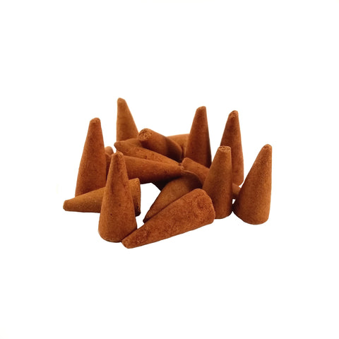 Gilded Vertiver Incense Cones 25 Pack