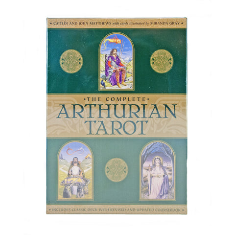 Arthurian Tarot Card and Book Set