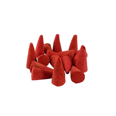 Dragon's Blood Incense Cones 25 Pack
